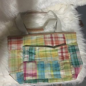Handbags - Bath & Body Works plaid small tote